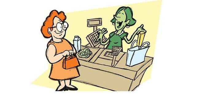 untitled 1 142 copie.jpg?resize=1200,630 - Une caissière a essayé de se moquer d'une femme âgée au supermarché, mais c'est elle qui a eu droit à une belle leçon!