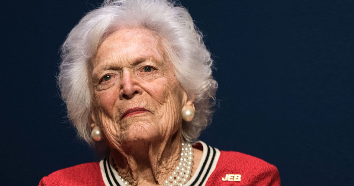 untitled 1 145.jpg?resize=300,169 - Former First Lady Barbara Bush Declines Further Medical Treatment To Fight A Serious Illness
