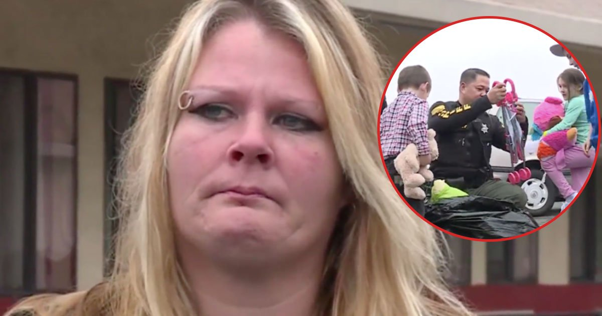 untitled 1 156 - Cops Find Homeless Family of 6 Who Was Cooking Meals Behind Walmart. Mom Worries, But Son Does the Unexpected