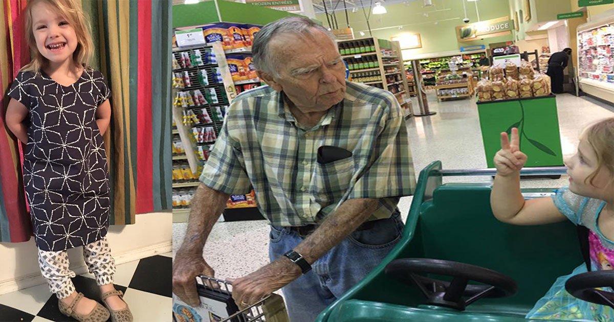 untitled 1 21.jpg?resize=412,232 - Une fillette de 4 ans interpelle un vieil homme à l'épicerie, voici ce qu'il s'est passé
