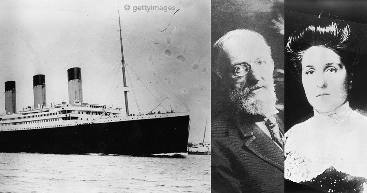 untitled 1 36.jpg?resize=412,232 - Isidor e Ida, la pareja a bordo del Titanic que demostró su amor hasta en sus últimos momentos de vida