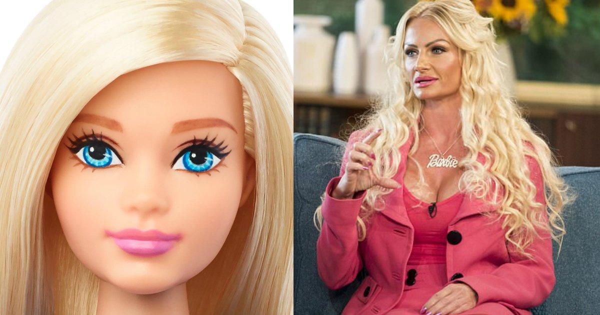 untitled 1 6.jpg?resize=1200,630 - Esta mãe britânica faz todo o possível para se tornar uma Barbie da vida real