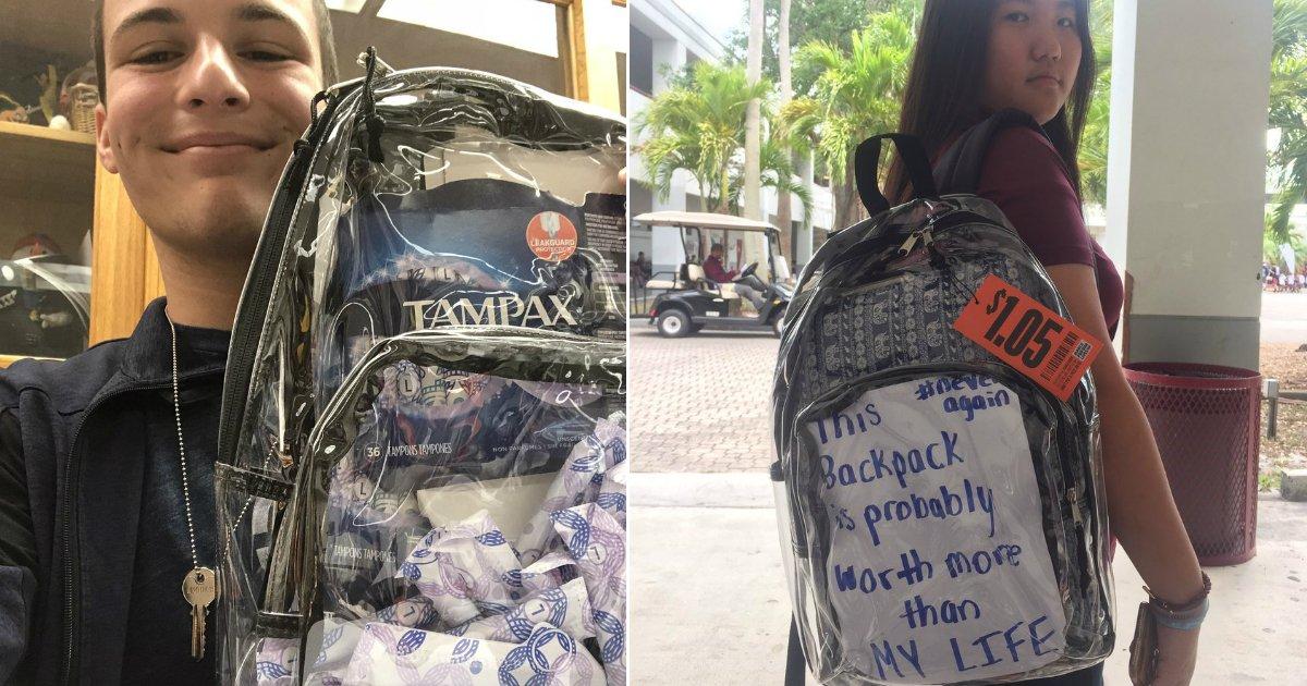 """untitled 1 61.jpg?resize=412,232 - Les lycées qui ont survécu à une fusillade dans leur école se plaignent de la nouvelle règle des """"sac à dos transparents"""""""