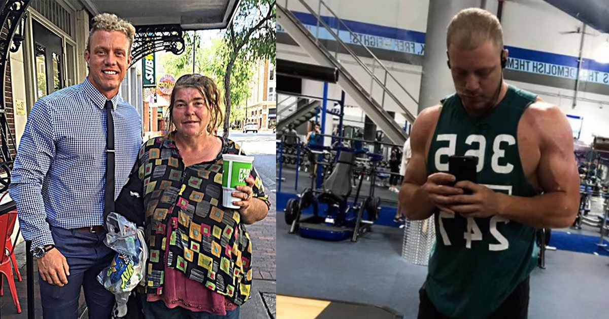 untitled 1 71 - This Fitness Coach Decided To Have Lunch With This Homeless Lady Every Tuesday And She Revealed Something That Touched His Heart