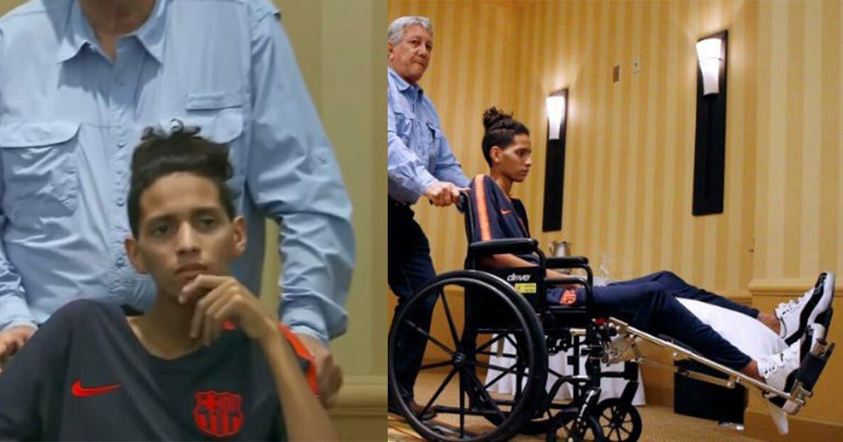 untitled 2 1.jpg?resize=412,232 - Le héros d'une fusillade dans un lycée de Floride, Anthony Borges, a exprimé ses inquiétudes concernant l'échec de la police à intervenir
