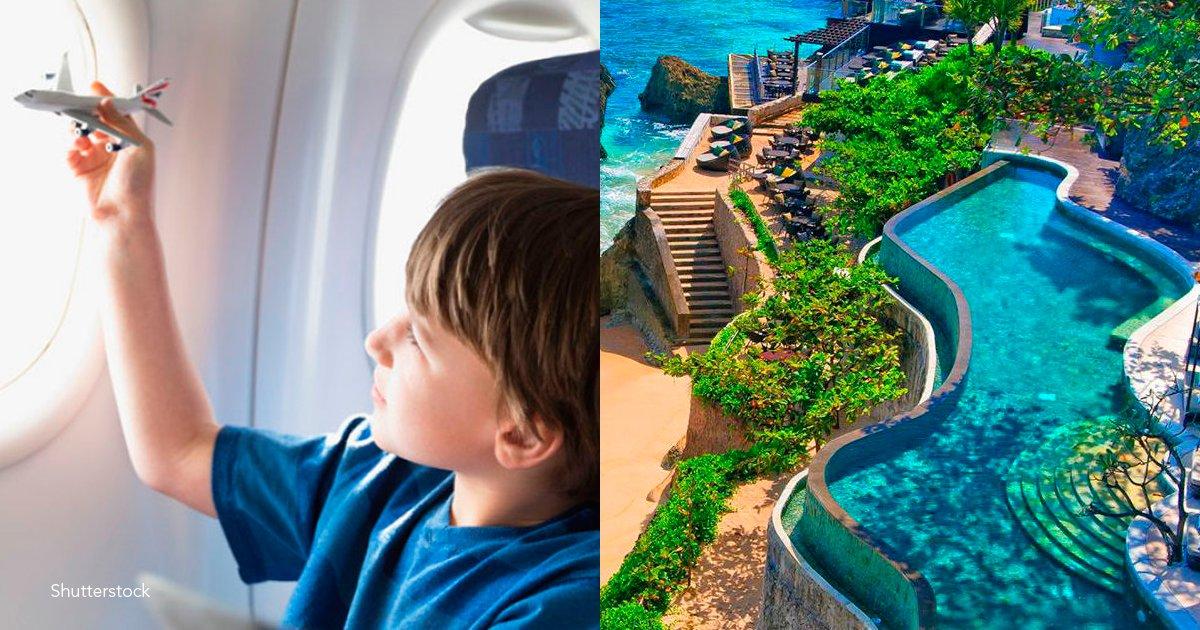 viaje - Este niño de 12 años se peleó con su madre y decidió tomarse un vuelo por cuatro días a Indonesia