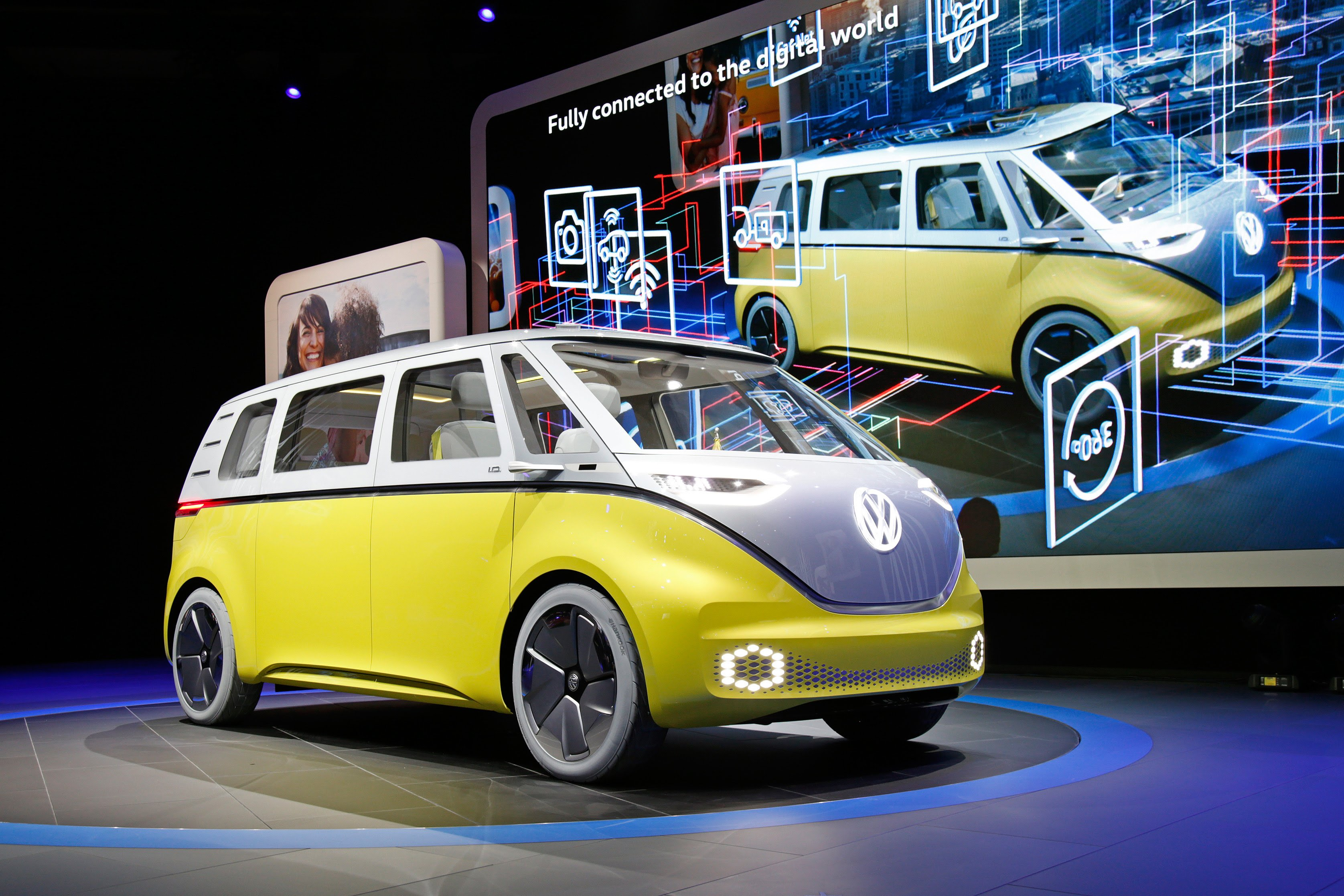 volkswagen i d buzz 2017 2.jpg?resize=300,169 - Volkswagen anuncia o retorno da Kombi: ela será elétrica com design futurista