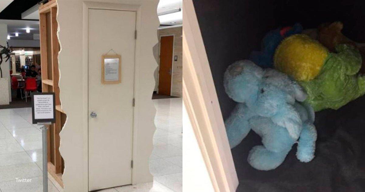 1 cover.png?resize=648,365 - En una universidad de EE.UU. crearon un cuarto para que los alumnos puedan ir a llorar