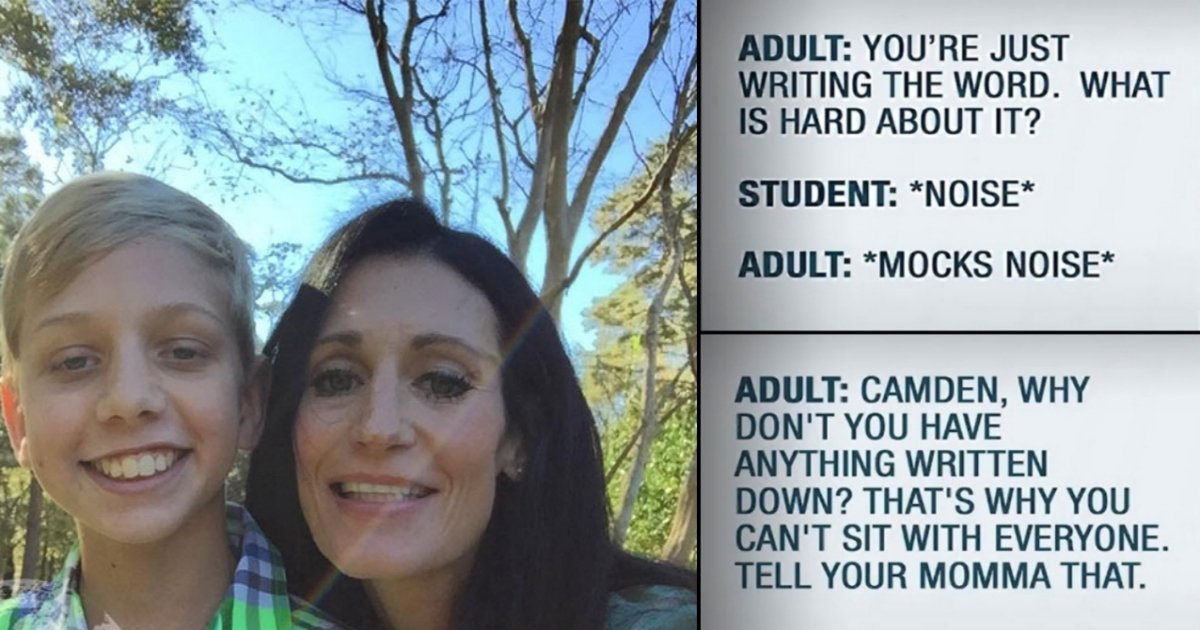 1 side 1.jpg?resize=636,358 - Mom Recorded The Teachers Bullying Her Autism Son, And Shared The Story On Social Media
