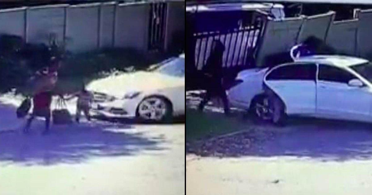 1 side 3.jpg?resize=412,232 - Une voiture avec des hommes armés renverse un petit garçon de 3 ans lors d'une embuscade à Johannesburg