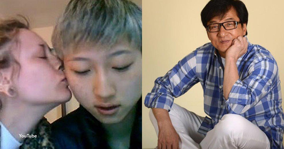 2 cover 1.jpg?resize=412,232 - Filha de Jackie Chan diz que passa necessidades e culpa seu pai por isso