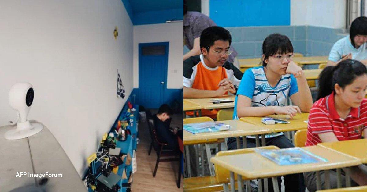 2 op 1.jpg?resize=412,232 - En China comenzaron a poner cámaras con reconocimiento facial para controlar que el colegio los alumnos presten atención