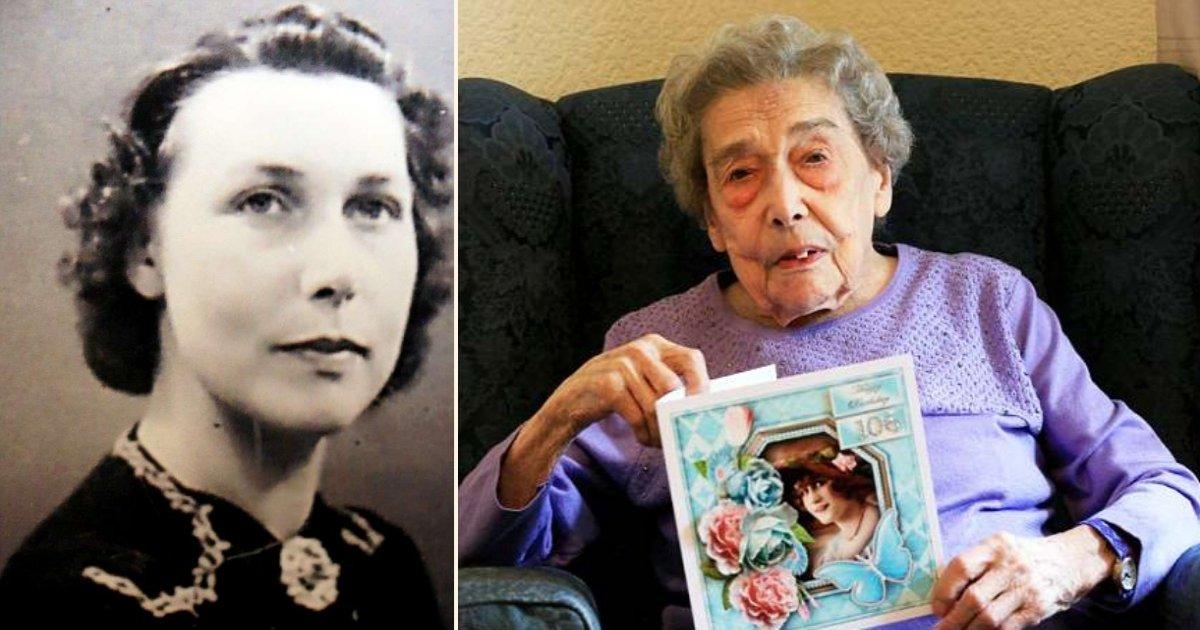 2 side 1.jpg?resize=1200,630 - Cette centenaire attribue sa longévité à n'avoir eu aucun homme dans sa vie!