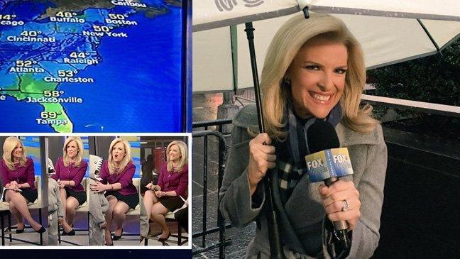 2017 11 29 janice dean rust flare dress.jpg?resize=648,365 - Cette présentatrice TV américaine partage sa réponse aux critiques qu'elle reçoit sur ses jambes.