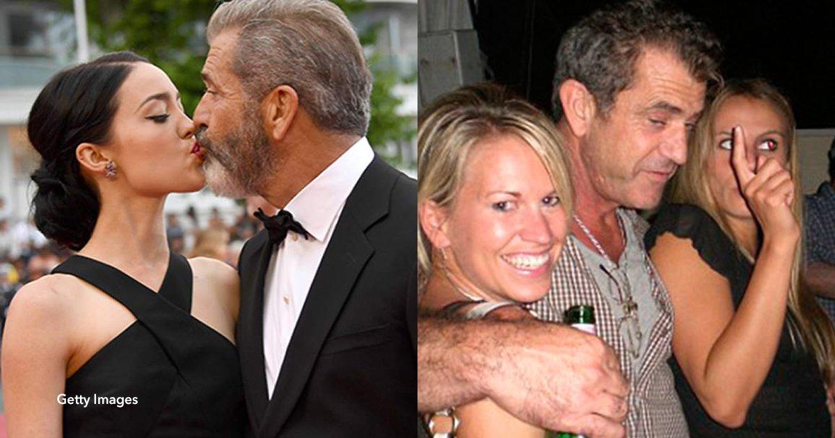 """5 cover 1.jpg?resize=412,232 - Mel Gibson, """"uno de los seres más despreciables de Hollywood"""" cambió por completo su personalidad gracias a su pareja de 26 años"""