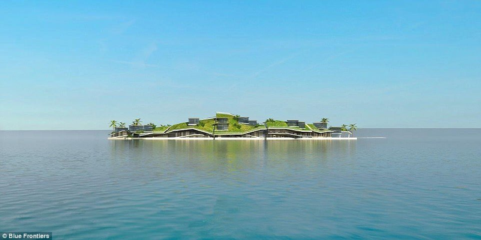 The scheme is the creation of the nonprofit Seasteading Institute, which hopes to