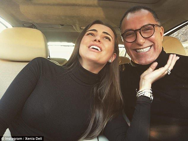 Deli e Rabah começaram a namorar no final de 2015, fazendo com que o namoro fosse um furacão com o casamento, apenas seis meses depois.
