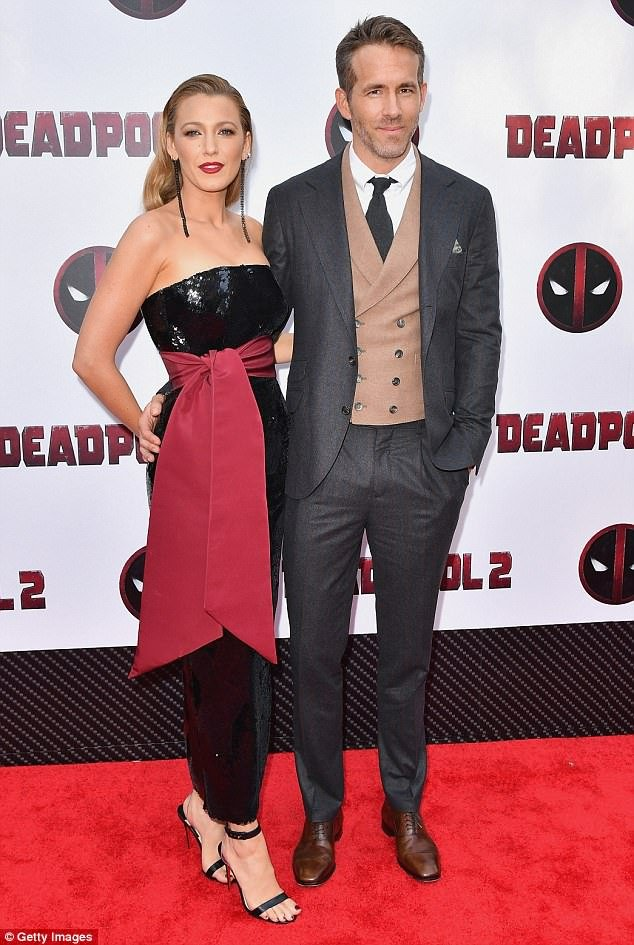 Couple goals: Ryan Reynolds and Blake Lively put on a stylish show at Deadpool 2 premiere in New York City on Monday evening