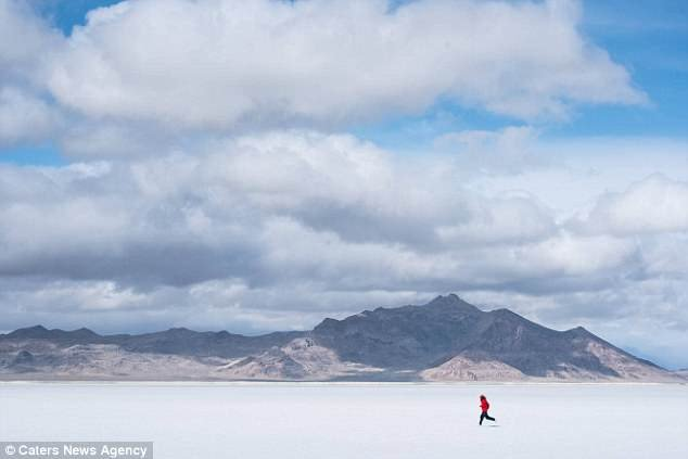 The Real Life Forrest battled terrains, snow and blistering heat on the epic 15,000 mile journey