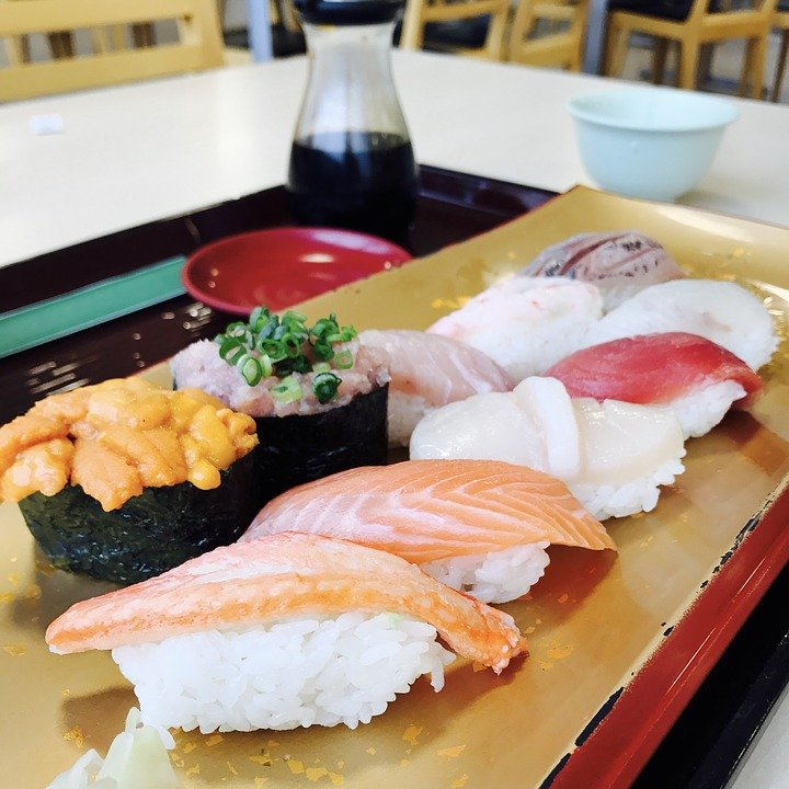sushi pixabay - the result of the image display