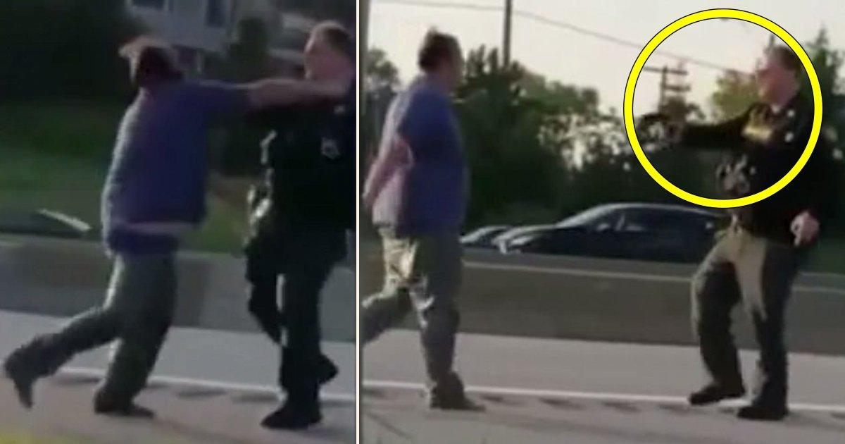 a side 5.jpg?resize=412,232 - Un homme à Cleveland a été abattu par l'adjoint du shérif sur l'I-90 après avoir attaqué plusieurs bons samaritains
