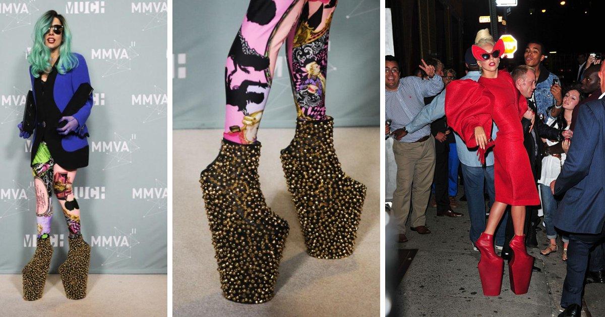 a3 2.png?resize=648,365 - Los 8 zapatos más bizarros usados por las celebridades