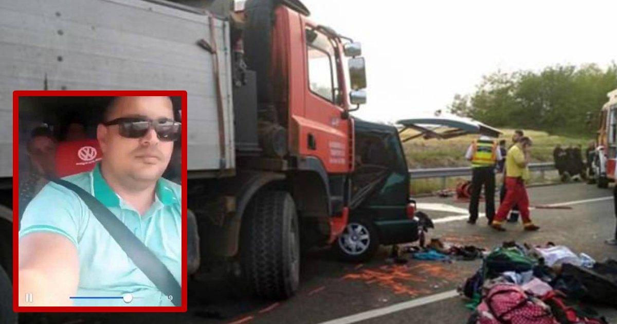 accident live streamed.jpg?resize=412,232 - 9 passagers et un chauffeur de minibus tués dans un accident grave en direct sur Facebook
