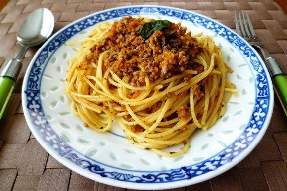 「食べ合わせ パスタ ひき肉」の画像検索結果