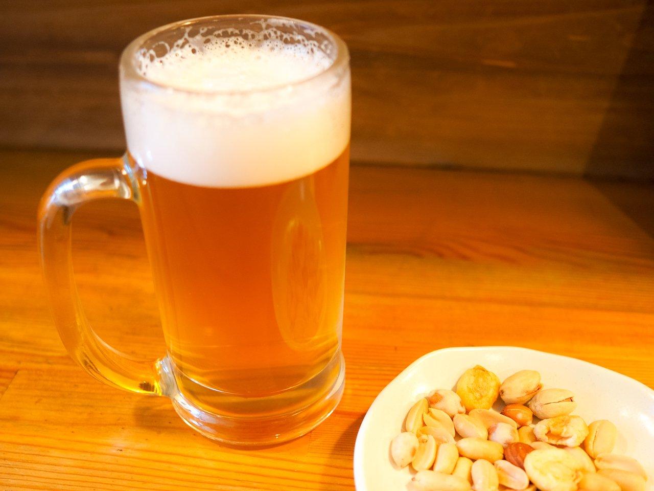 「ビール&ナッツ」の画像検索結果