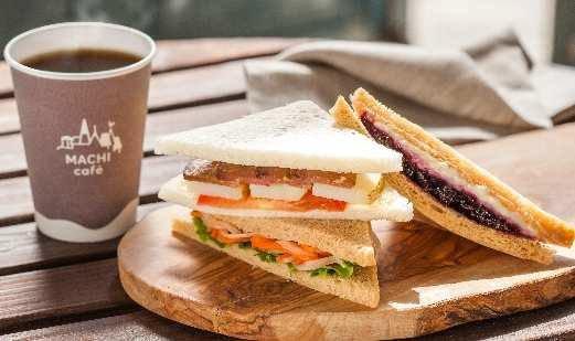 「チーズサンドイッチ&コーヒー」の画像検索結果