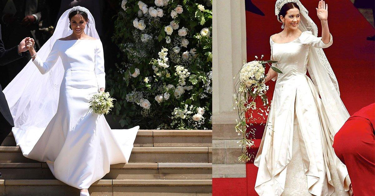"""allison langdon accuses meghan markle for copying princess marys wedding dress.jpg?resize=1200,630 - Allison Langdon accuse Meghan Markle d'avoir """"copié"""" sa robe de mariée sur celle de la princesse Mary."""