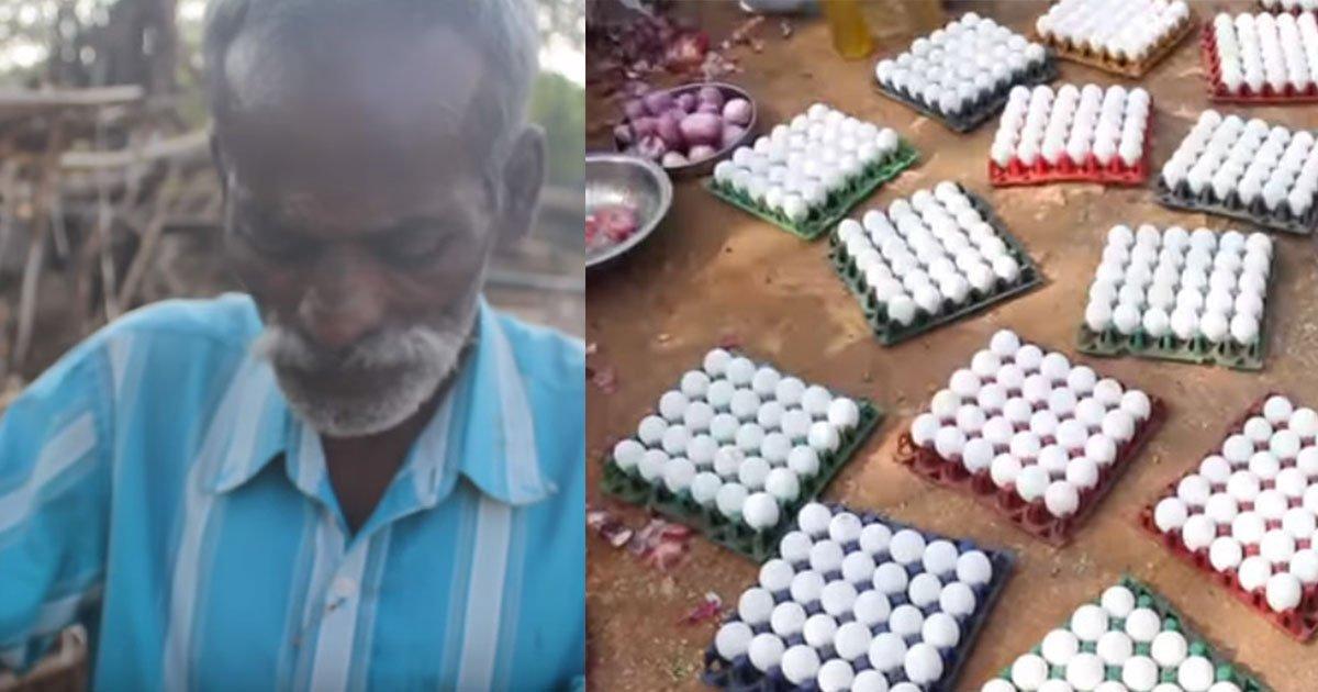 an indian villager buys 1000 eggs and what they do with it is amazing.jpg?resize=412,232 - Un père et son fils achètent 1000 oeufs et ce qu'ils en font est encore plus étonnant