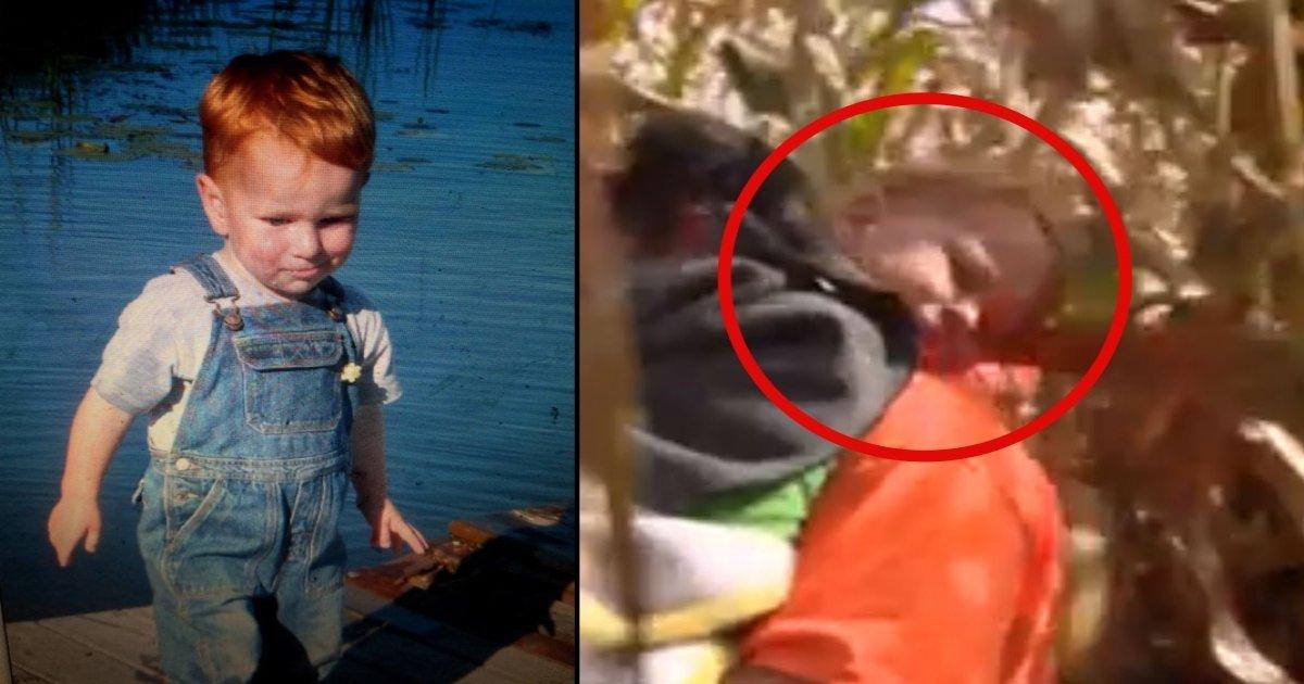 b side 1.jpg?resize=1200,630 - Un garçon de 3 ans disparaît dans un champs et voici ce qui s'est passé après 20 heures