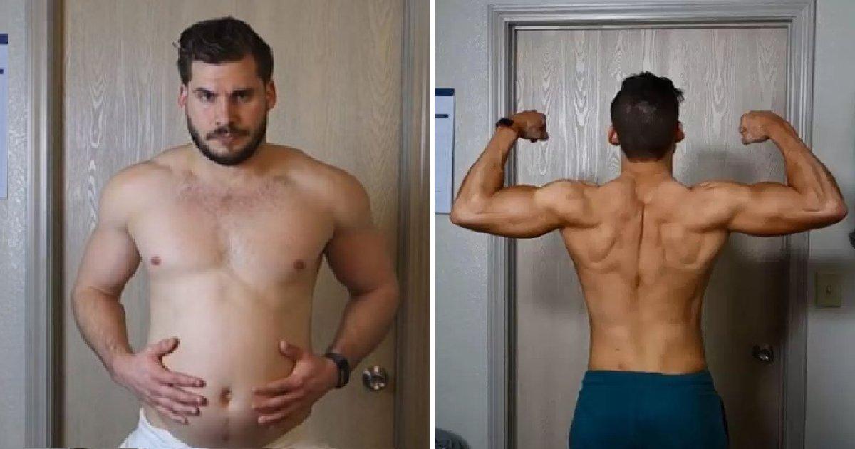 bbb 2.png?resize=300,169 - 3달 만에 완벽 식스팩 장착한 남성이 기록한 몸의 변화(영상)