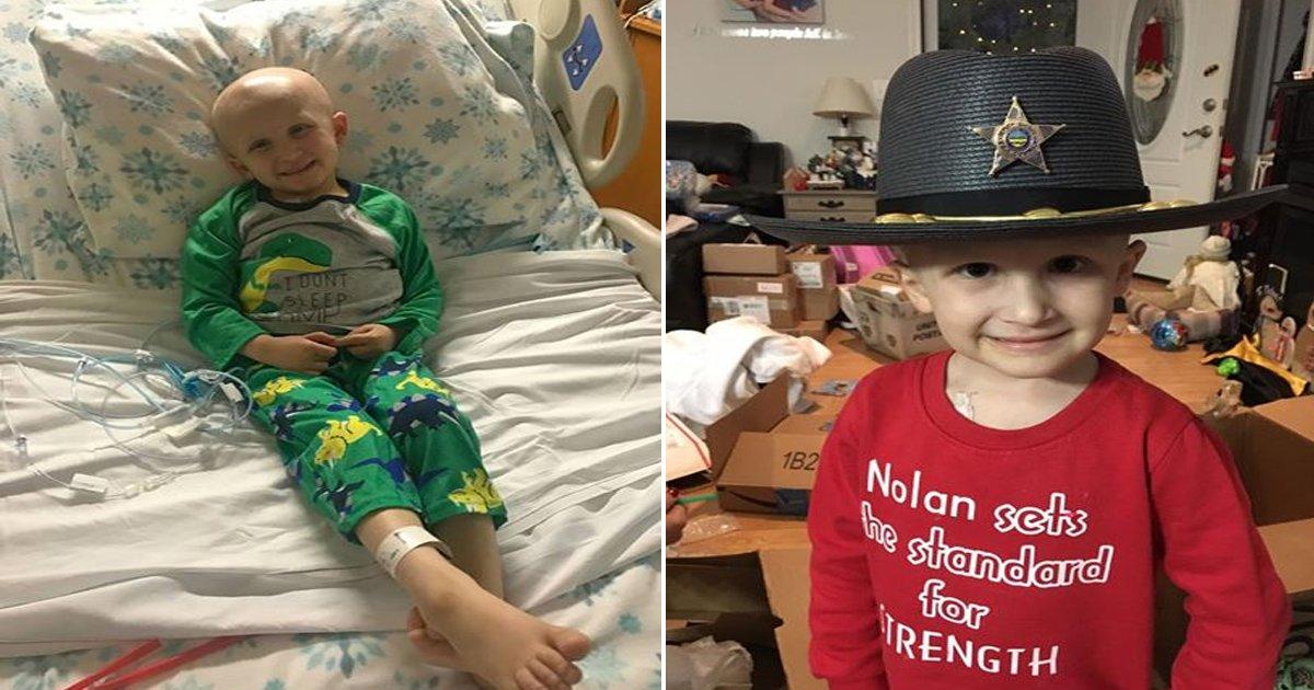cancer 4.jpg?resize=648,365 - Une Maman dit à son fils mourant du cancer de se reposer éternellement - Il lui répond avec une grande tendresse.