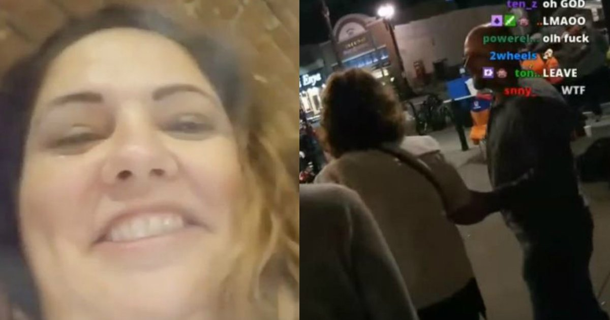 caught cheating.jpg?resize=1200,630 - Married Woman Caught Cheating During A Live Stream Outside The Club