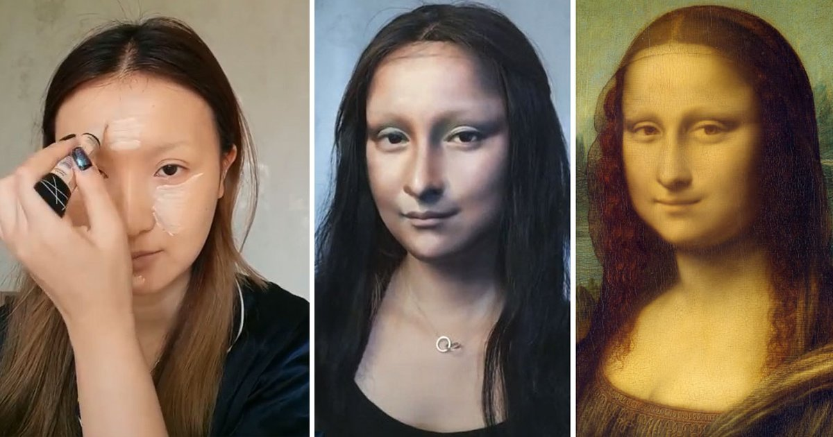 chinese.jpg?resize=412,232 - This Chinese Blogger Transforms Herself Into Mona Lisa And Receives An Overwhelming Response