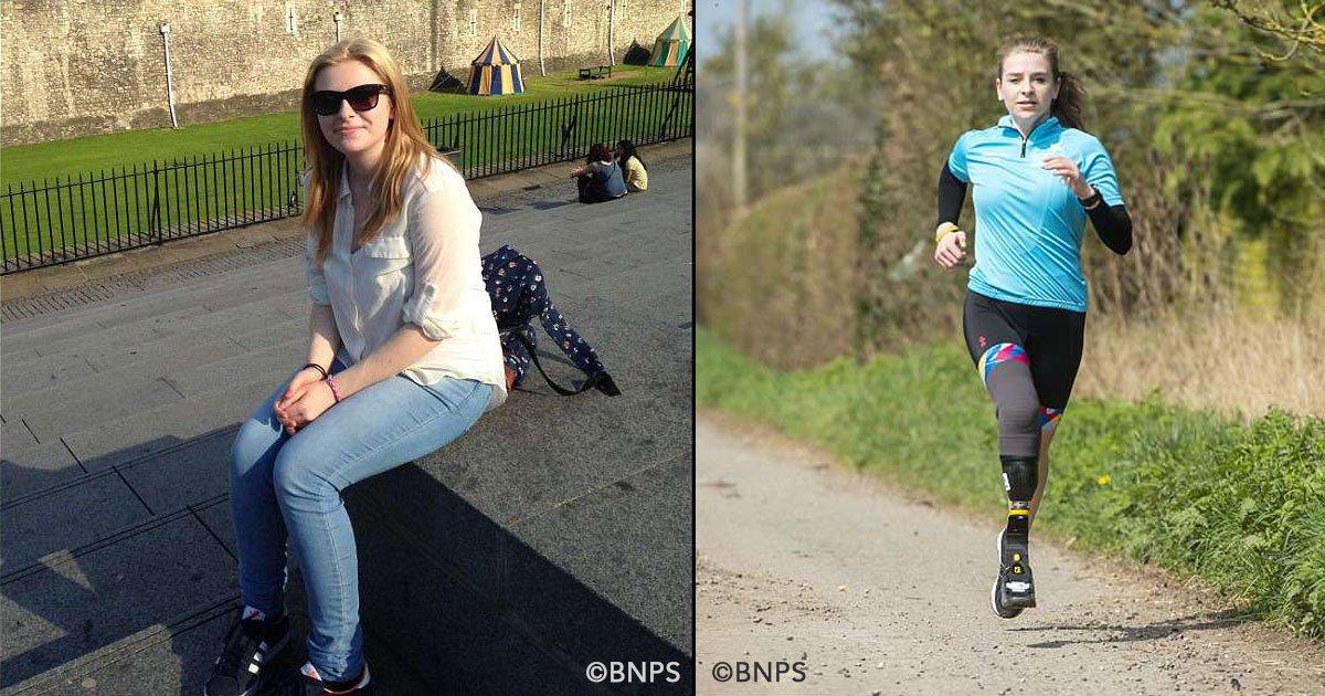 cover 17.jpg?resize=648,365 - Sufría de fuertes dolores en una pierna y decidió amputársela, ahora se prepara para competir en los paralímpicos