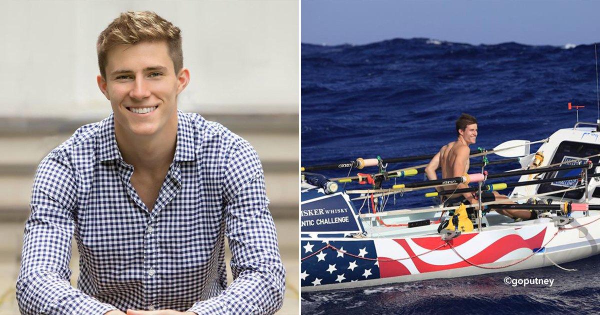 cover22 bote.jpg?resize=1200,630 - Este chico casi murió ahogado pero se convirtió en la persona más joven en cruzar el océano, remó 44 días a través del Atlántico