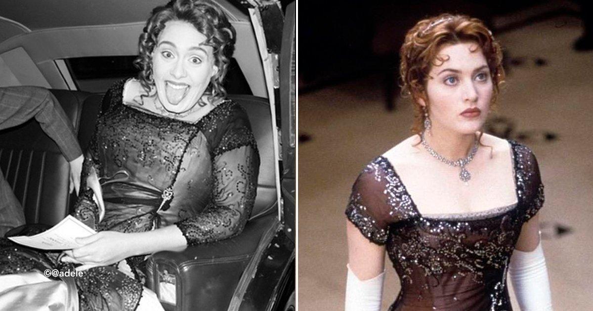 """cover22ade.jpg?resize=300,169 - Adele cumplió 30 años y lo celebró al """"estilo Titanic"""", lucía idéntica a Kate Winslet"""