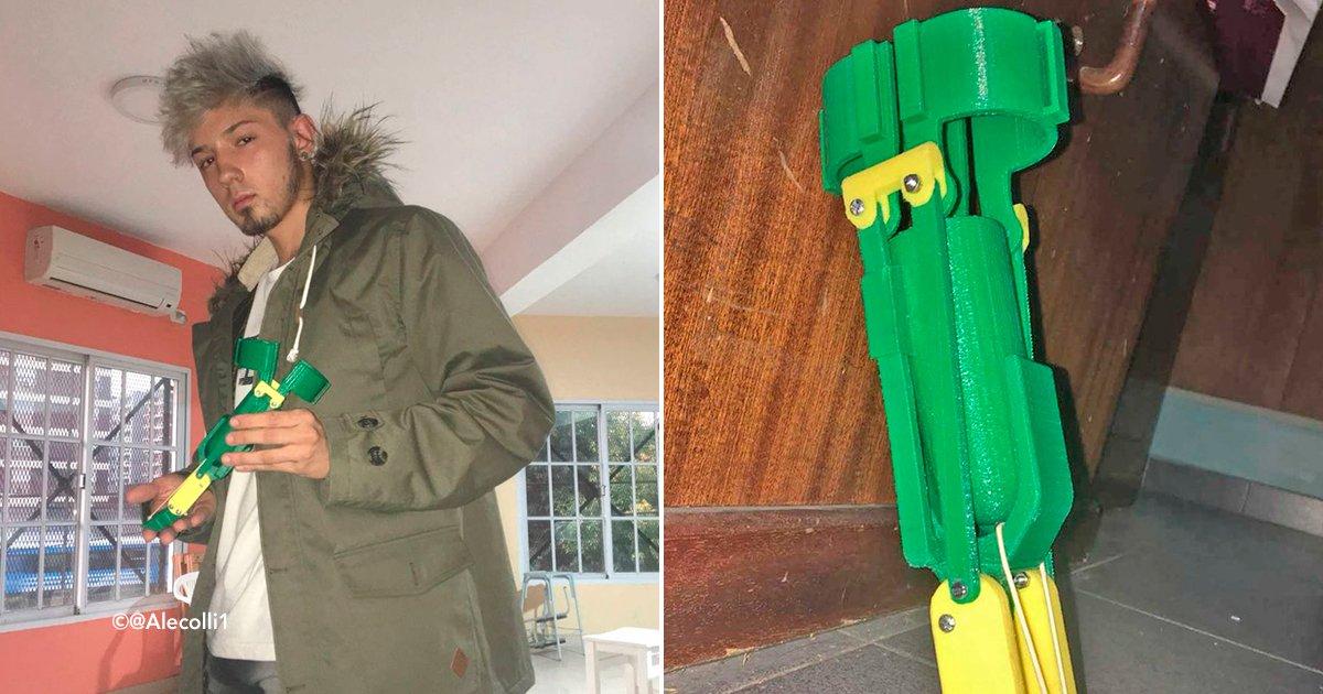 cover22brazo.jpg?resize=648,365 - Este muchacho argentino realiza prótesis con una impresora 3D, de esta manera ayuda a los animales