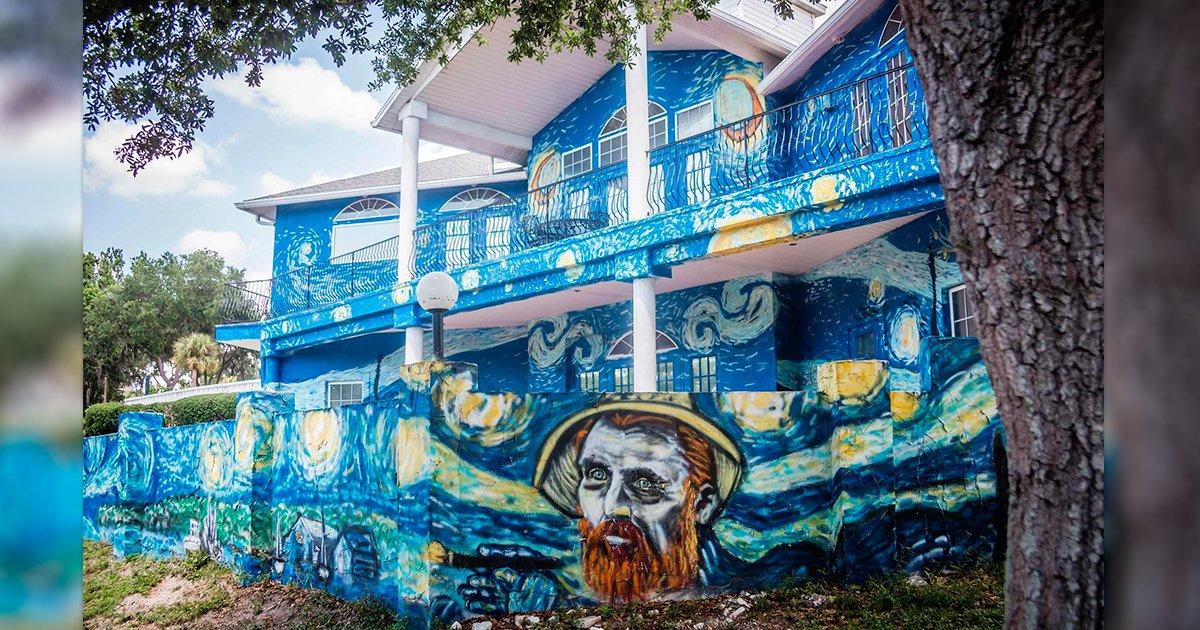 """cover22cas.jpg?resize=1200,630 - Pintaron su casa como """"la Noche Estrellada"""" de Van Gogh, y fueron demandados por miles de dólares"""