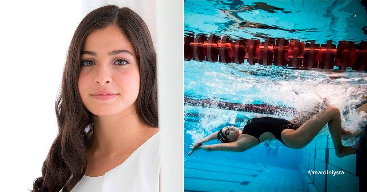 cover22swim.jpg?resize=648,365 - Tuvo que nadar en aguas gélidas para salvar a 19 refugiados, ahora es campeona mundial de natación