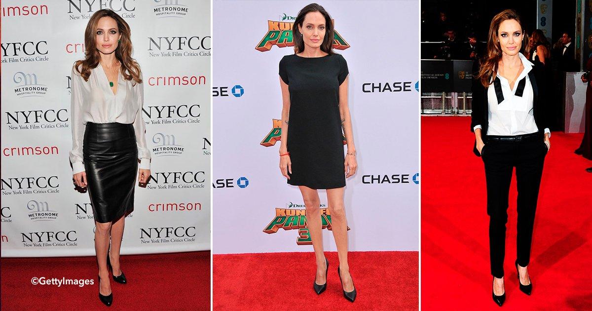 cover22zap.jpg?resize=648,365 - Angelina usa siempre el mismo estilo de zapatos a pesar de ganar millones de dólares en cada película que protagoniza