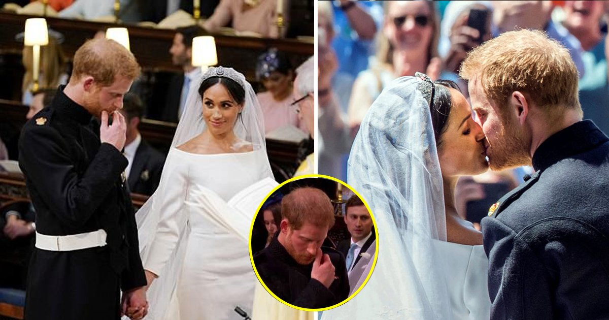 crying.jpg?resize=300,169 - The Rare, Emotional Side Of The Prince- He Wiped His Tears Just After Meghan Walked Down The Aisle