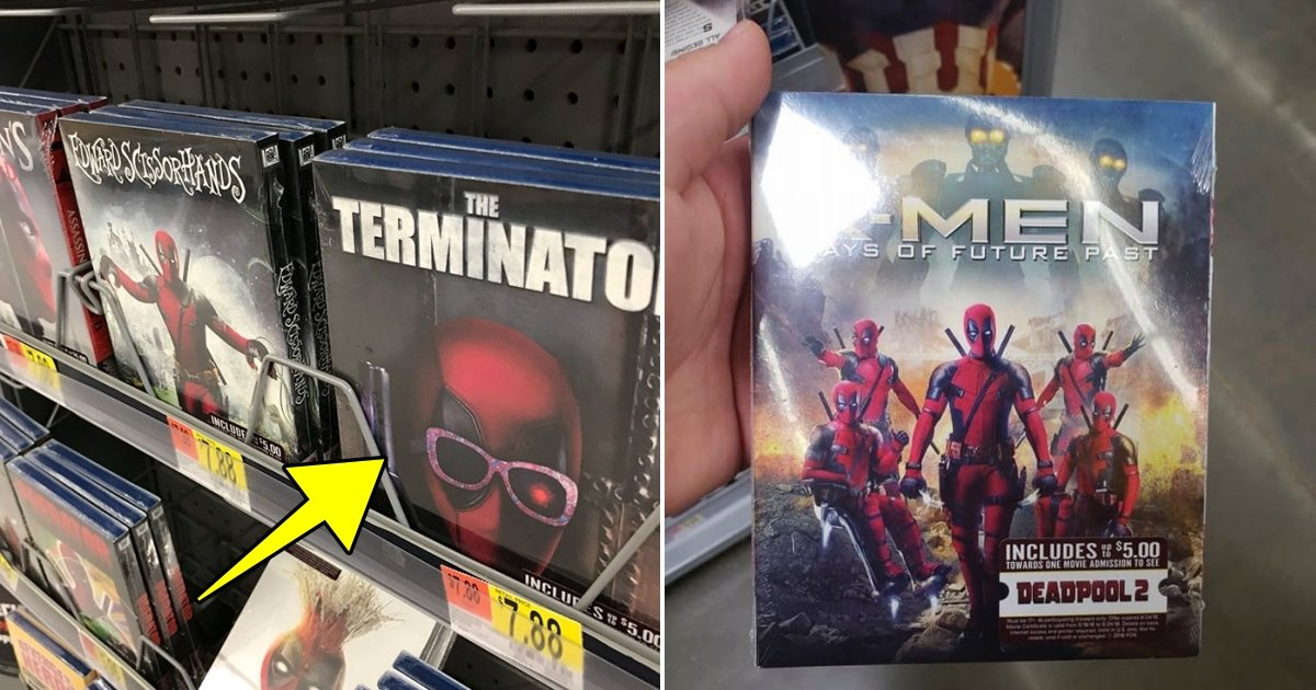 d side 4.jpg?resize=300,169 - Deadpool Hilariously Hijacks The Covers Of Famous Movies, And They Are Actually Sold At Walmart