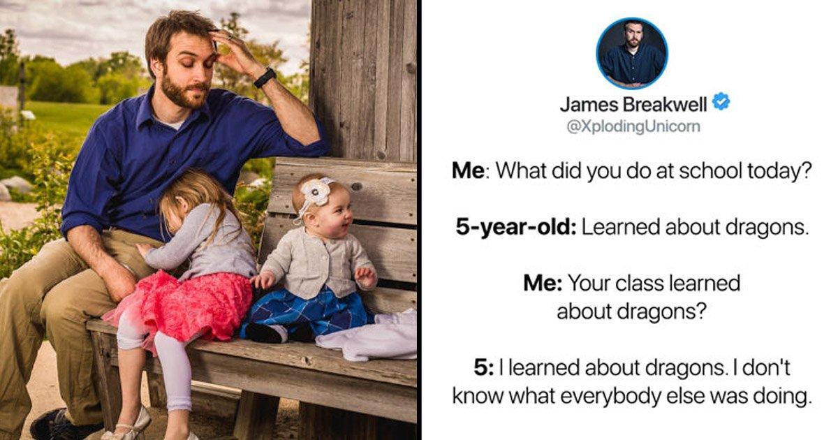 dadson.jpg?resize=1200,630 - La conversation hilarante de ce père et de ses filles vous fera rire aux éclats