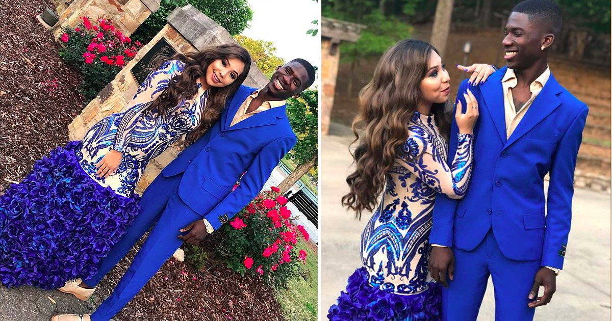 dress.jpg?resize=648,365 - A High Scholar Recreated Her Prom Dress That Went Viral On Instagram