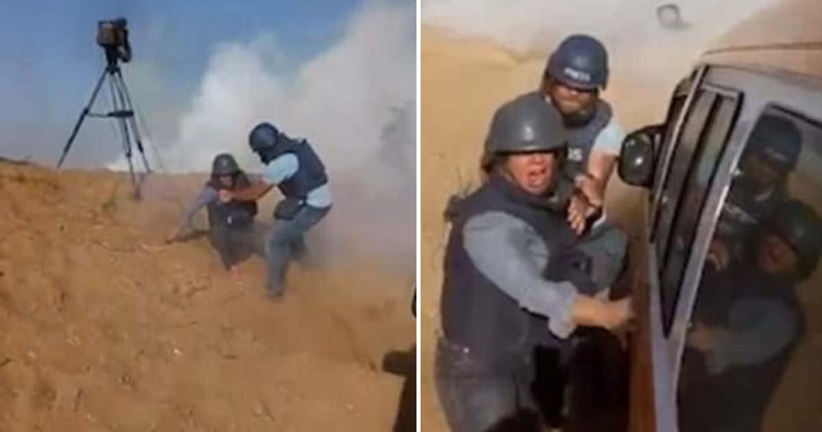 ebacb4eca09c 1 ebb3b5ec82ac 50.jpg?resize=1200,630 - 기자들 저격하고 발포한 '총알' 가까스로 피한 '가자지구' 특파원 (영상)