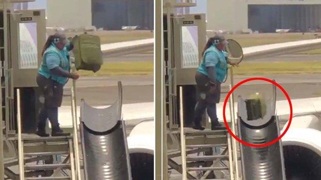 ebacb4eca09c 1 ebb3b5ec82ac 95 1.jpg?resize=1200,630 - 「私のスーツケースが壊れた理由」...乗客の荷物を「乱暴に」投げる航空会社の従業員(映像)